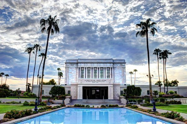 Mesa Arizona Temple Morning